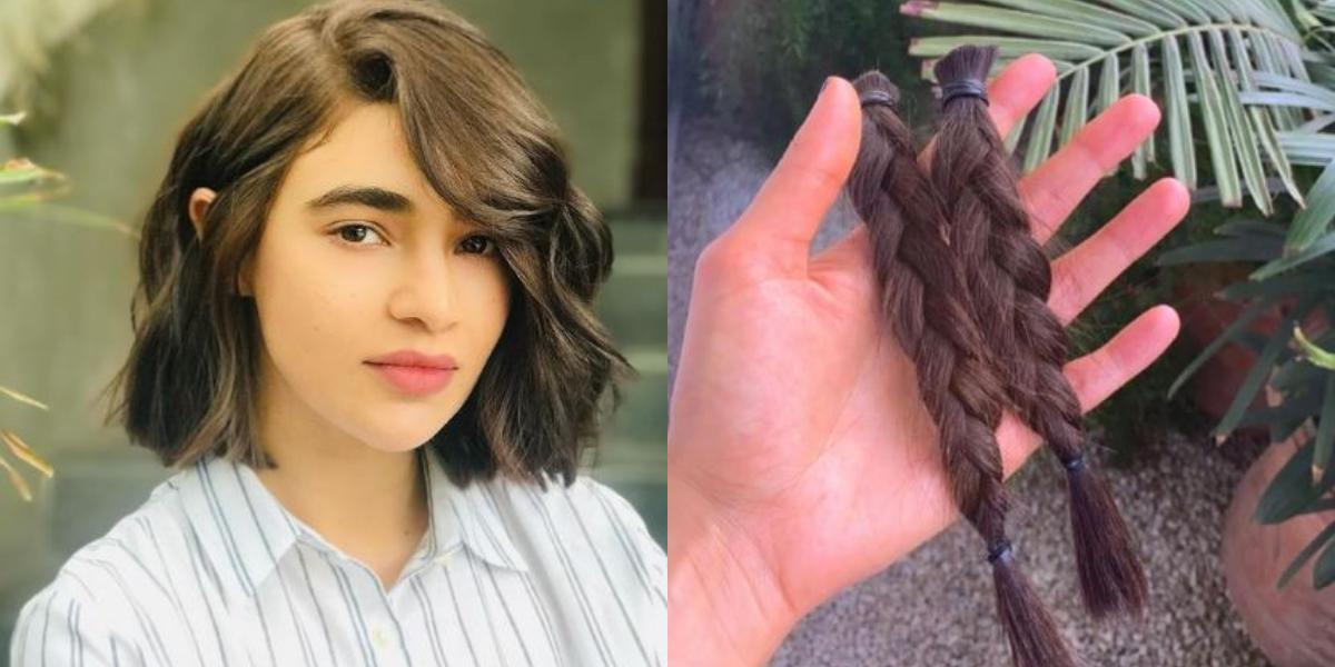 Saheefa Jabbar Donates Her Hair To Charity