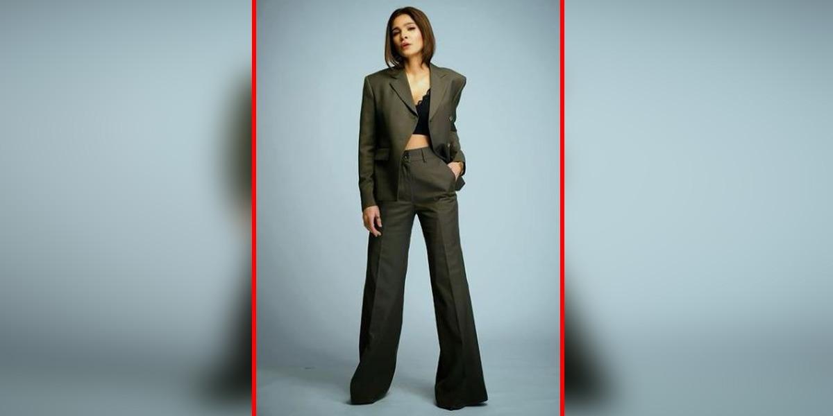 Ayesha Omar power suit