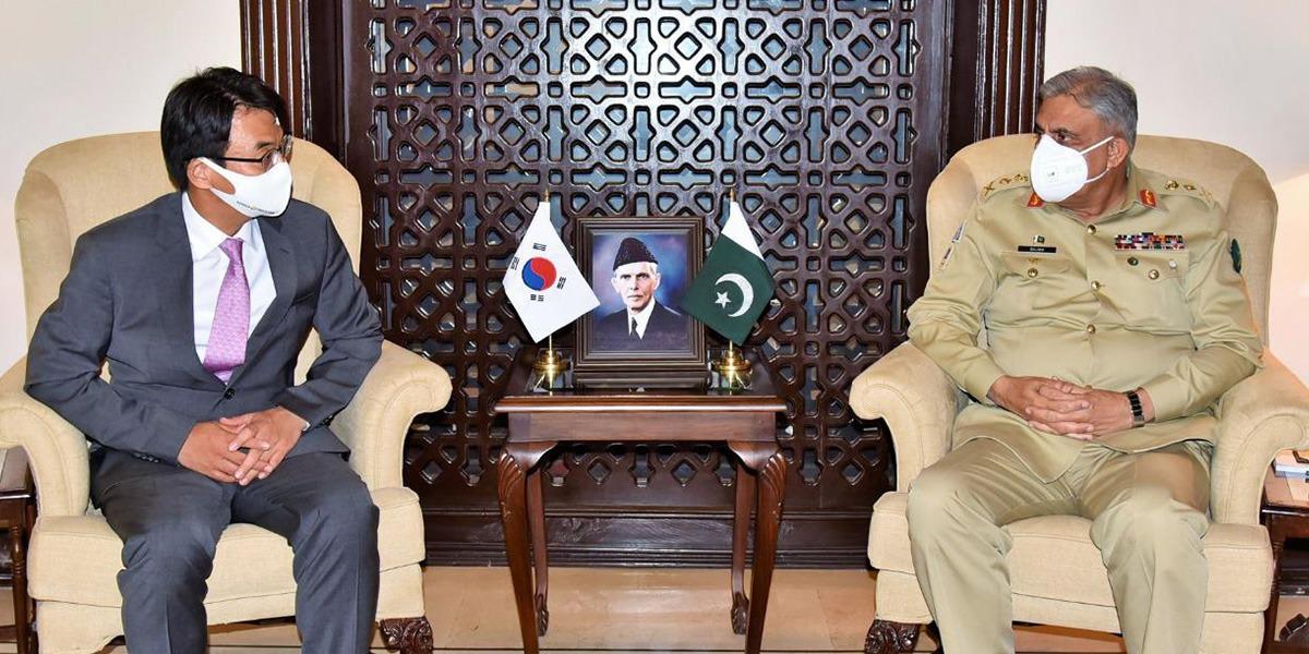 COAS Calls On Korean Ambassador To Pakistan