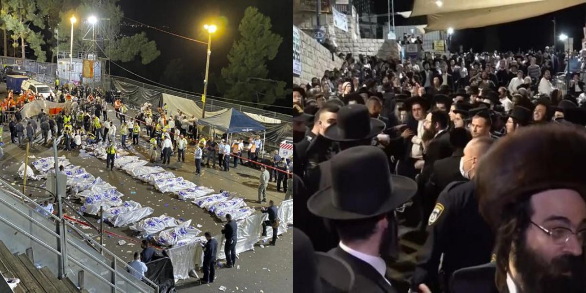 Israel: 45 People Crushed to Death, 150 Injured In Stampede