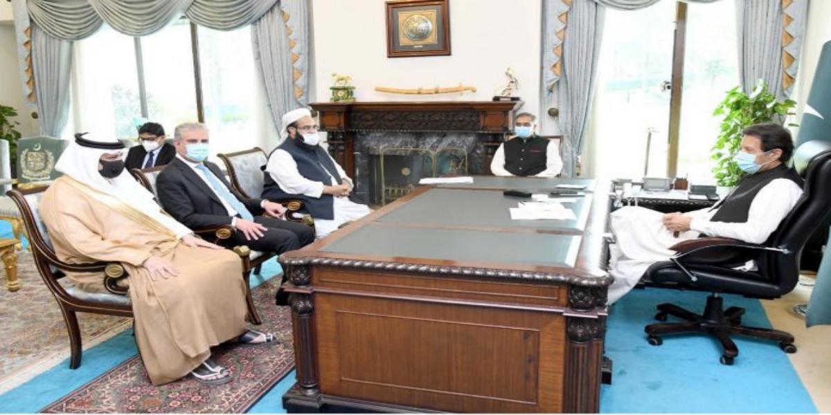 Saudi Ambassador to Pakistan Calls On PM Imran