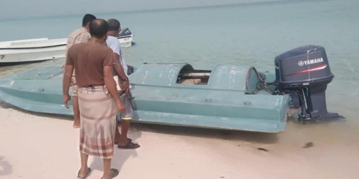 Saudi-Led Coalition Destroys Explosive-Laden Boat In Red Sea