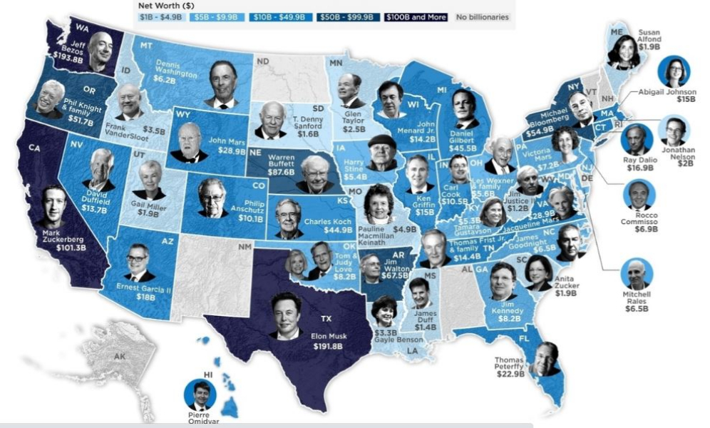 Forbes' Billionaires List: Record People Became Rich During Pandemic