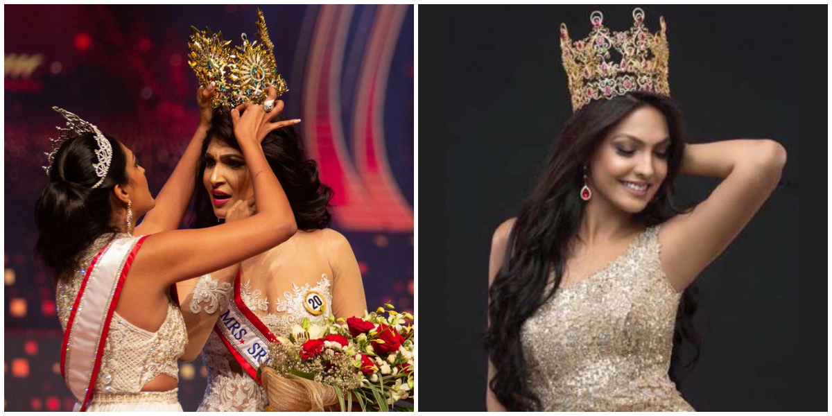 Mrs. Sri Lanka Pageant Controversy: Mrs. World Resigns Her Title