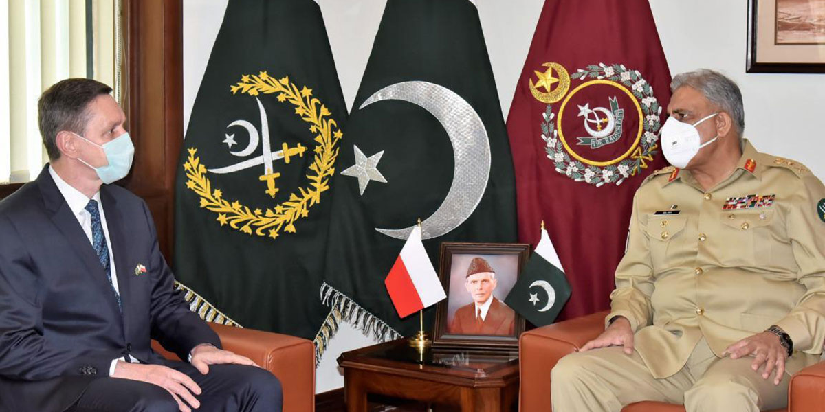 Pakistan Attaches Great Importance To Cooperation With Poland: COAS