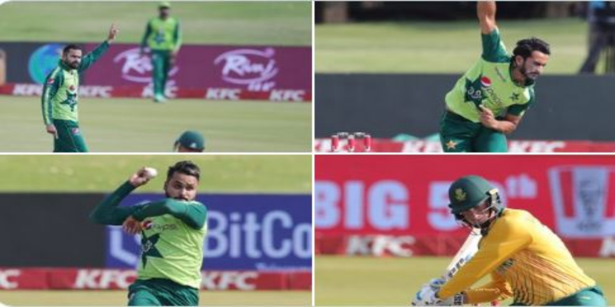 South Africa Sets 204-Run Target ForPakistan