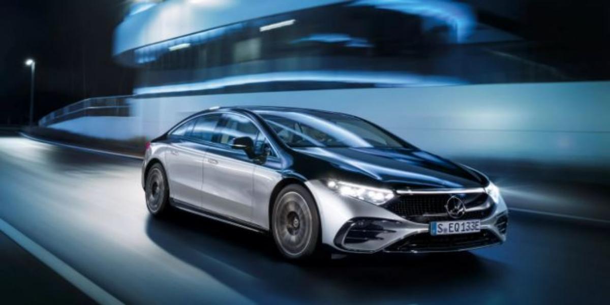 Mercedes Introduces World's Most Aerodynamic Electric Car EQS