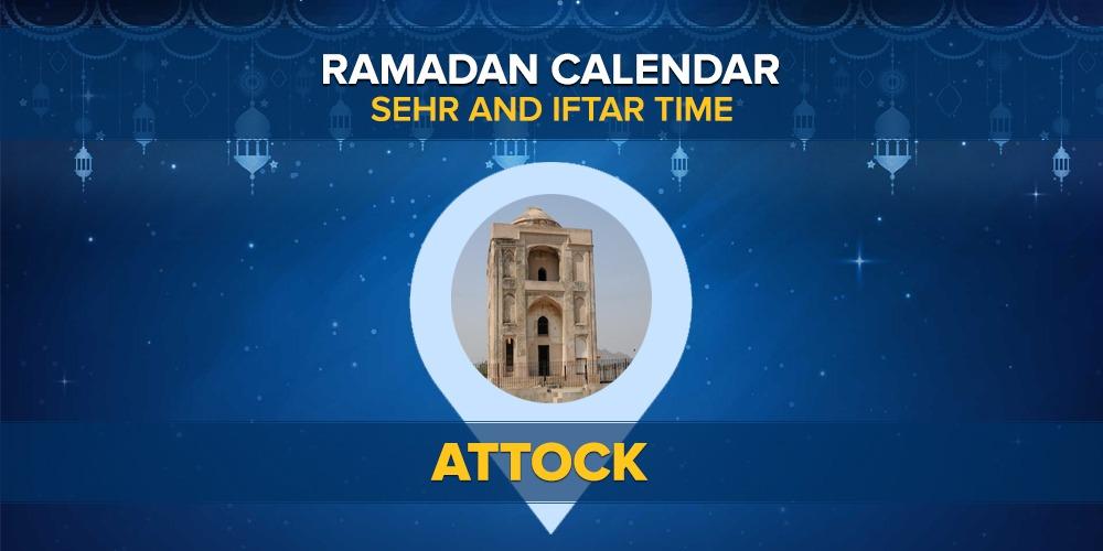 Ramadan Calendar Attock 2021