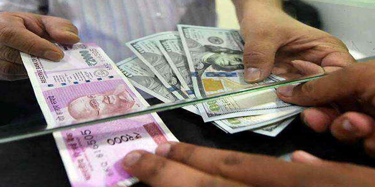 Dollar rate in Indian Rupee