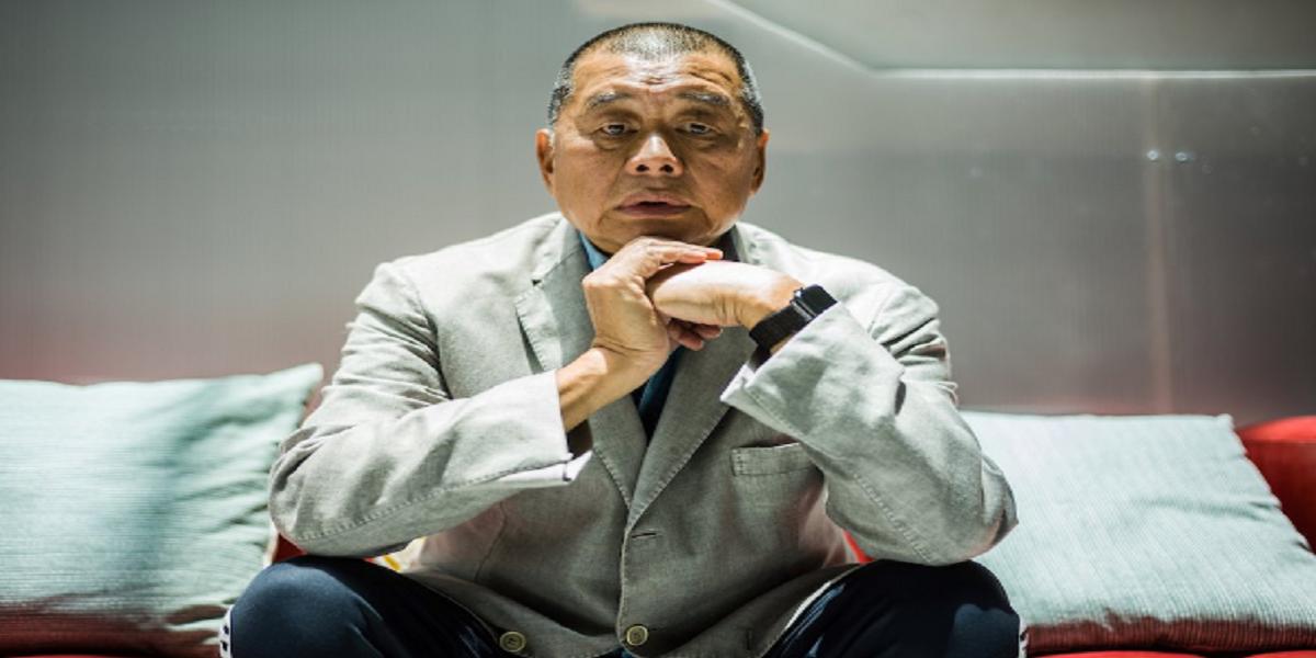 Jimmy Lai Hong Kong tycoon