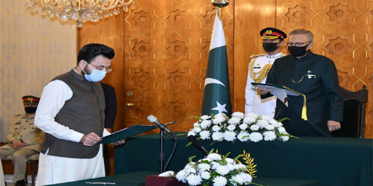 Farrukh Habib takes oath as Minister of State for I&B