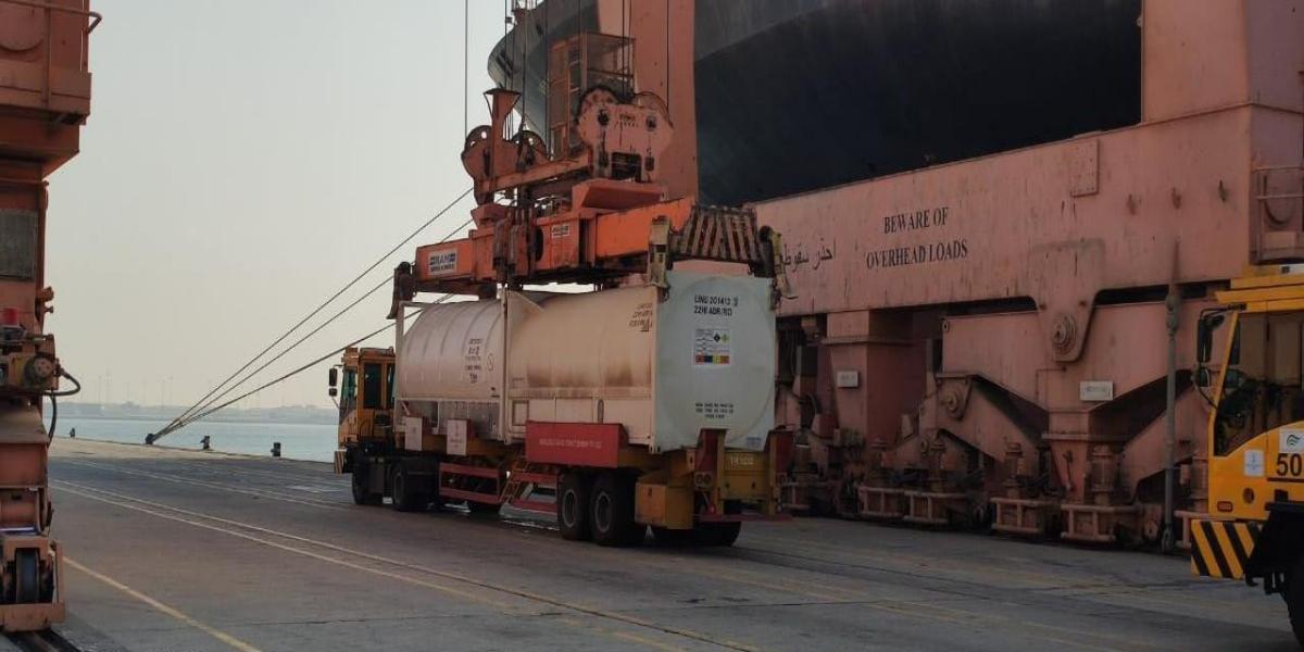 Saudi Arabia gifts 80 MT oxygen liquid to India