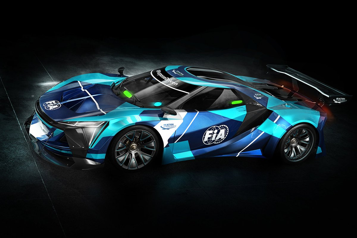 FIA launches 'groundbreaking' electric GT category