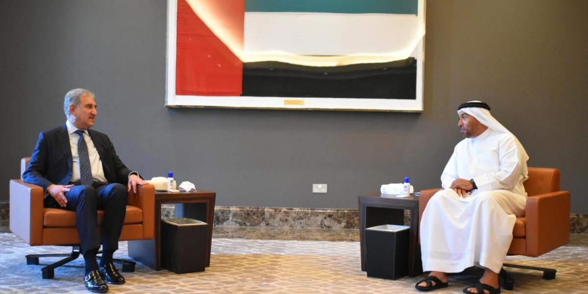 Pakistan, UAE Exchange Views On Regional & Global Issues