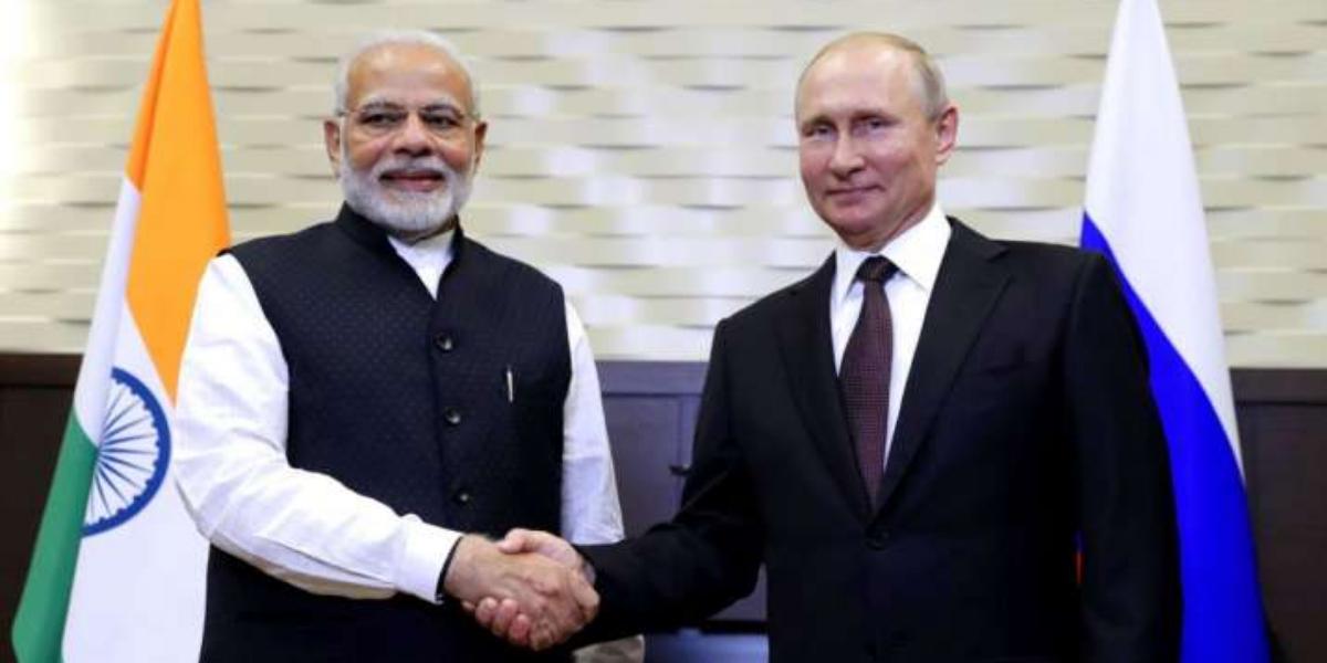 Modi thanks Putin