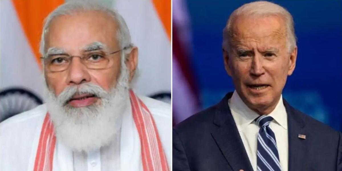 Modi Joe Biden Call