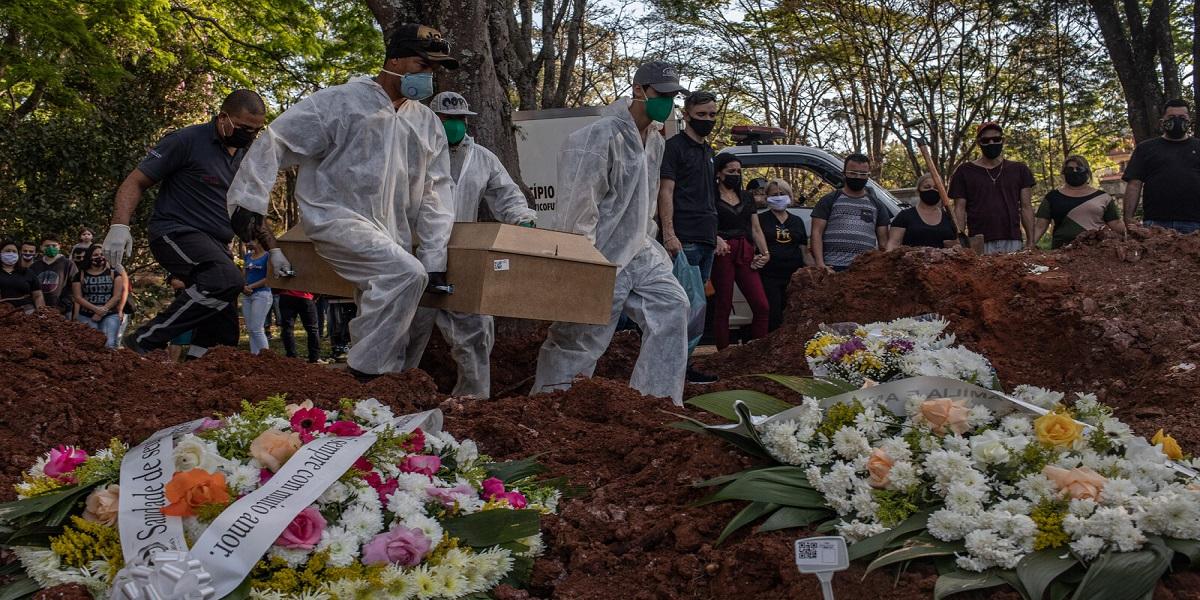coronavirus deaths Brazil