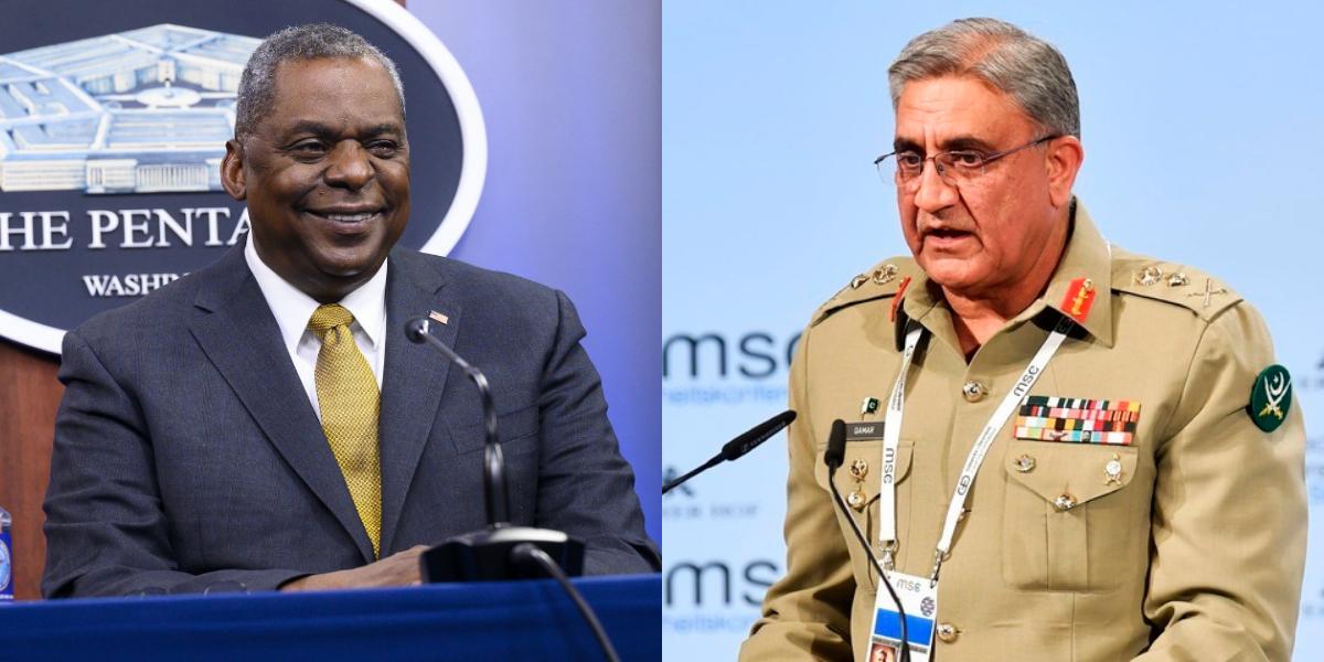 Bajwa calls US Secretary of Defense