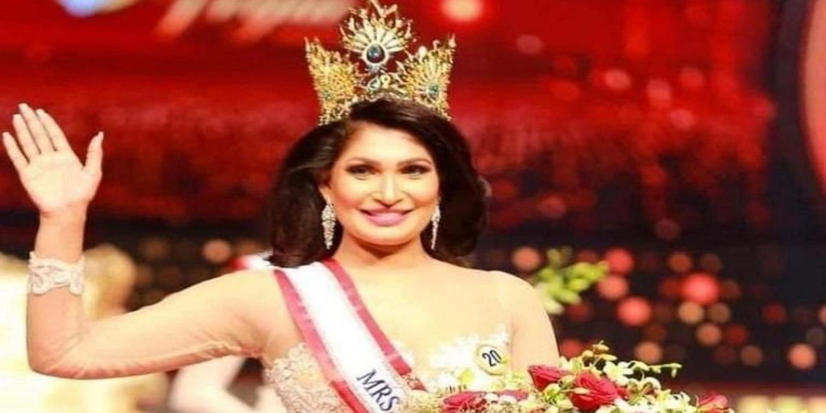 Mrs Sri Lanka crown seized