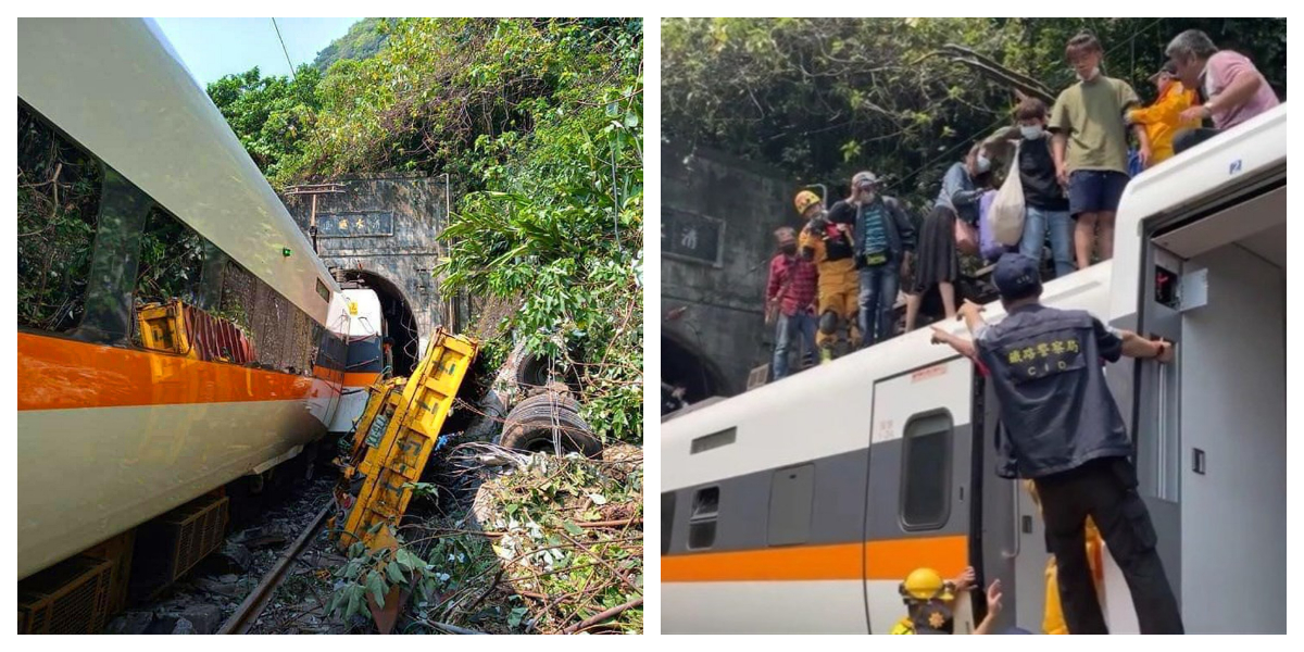 Taiwan: 5 Passengers Killed, Multiple Injured In Fatal Train Crash