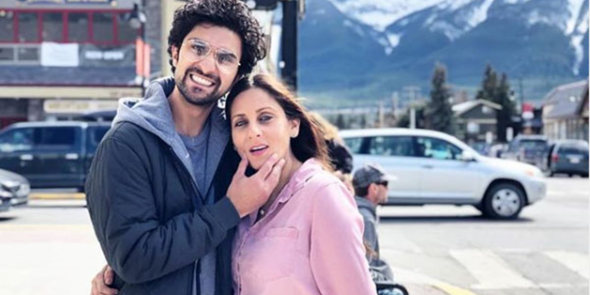 Ahad Raza Mir With Mother