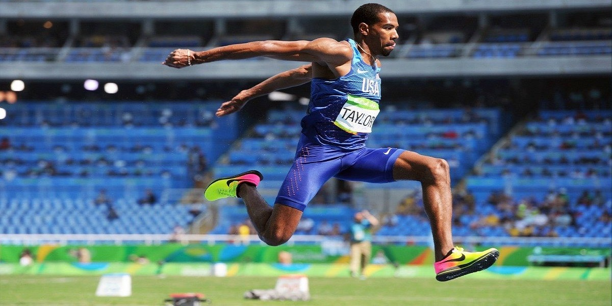 Triple jump Athletics Christian Taylor ruptures Achilles, set to miss Olympic