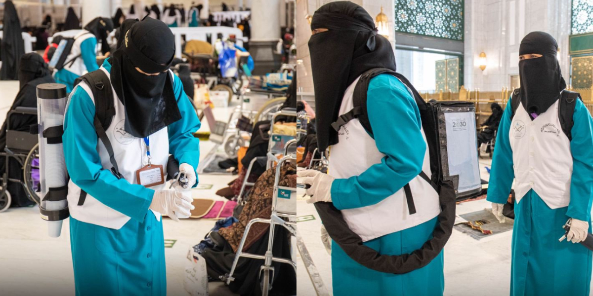 Female workers appointed for Holy Ka'aba