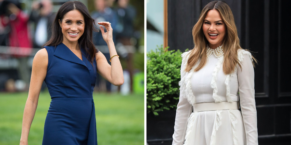 Chrissy Teigen Wants to Hang Out with Meghan Markle to 'chill' in Archie's coop