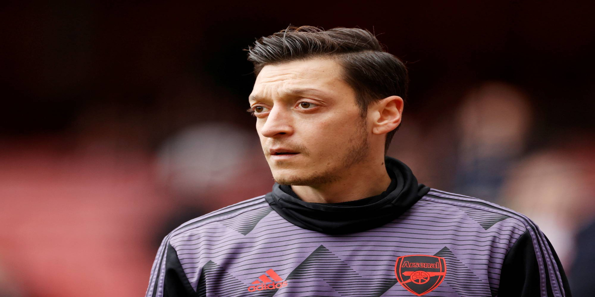 German Footballer Mesut Özil Send EID Greeting To Palestinians