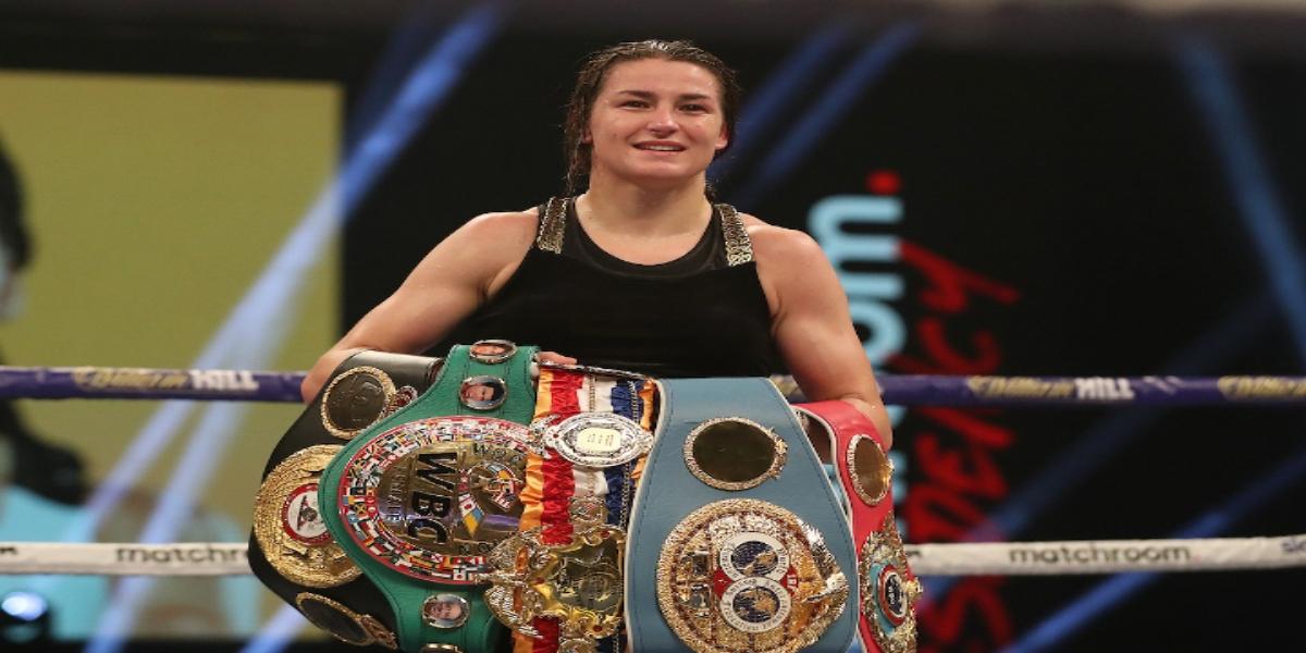 Katie Taylor defeated Natasha Jonas in a spectacular fight