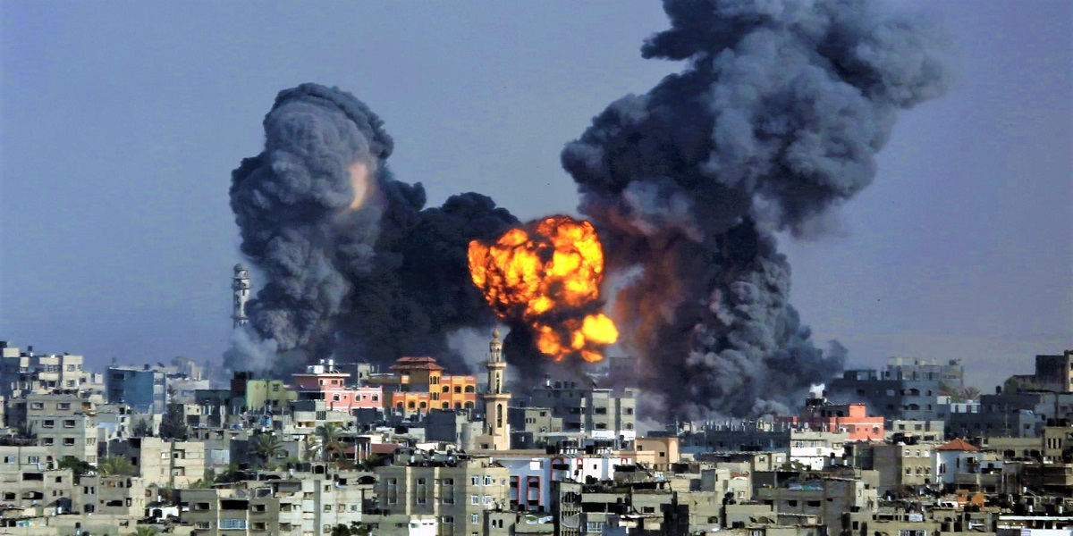 Israeli Violence in Gaza enters 5th day, more than 100 killed