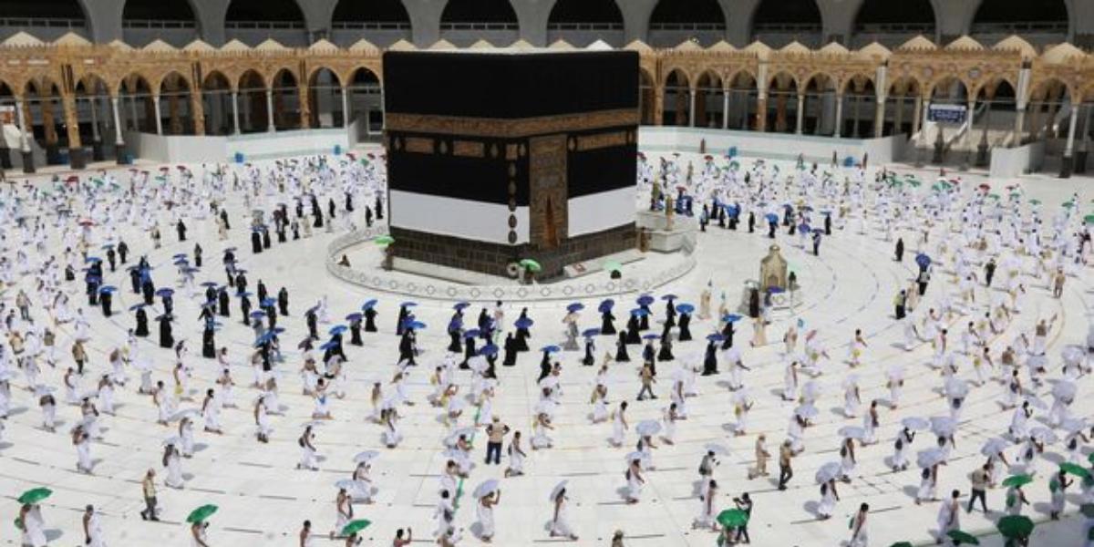 Hajj 2021: Pilgrims Coverage On Mina For Rituals