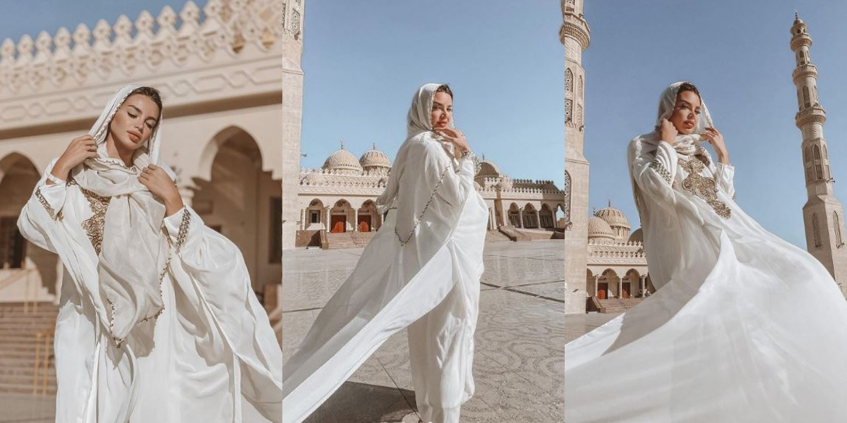 Egyptian bellydancer sparks fury After Her Photoshoot Outside Mosque Went Viral