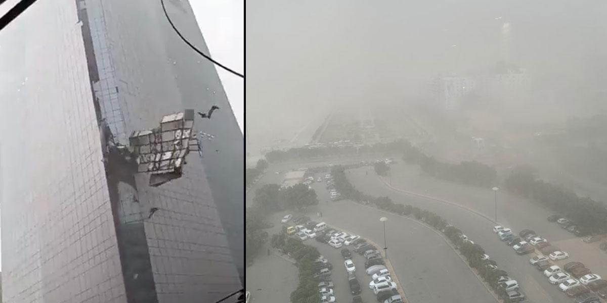 Karachi thunderstorms