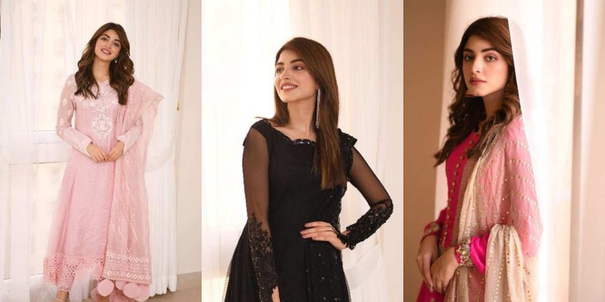 Kinza Hashmi Eid looks