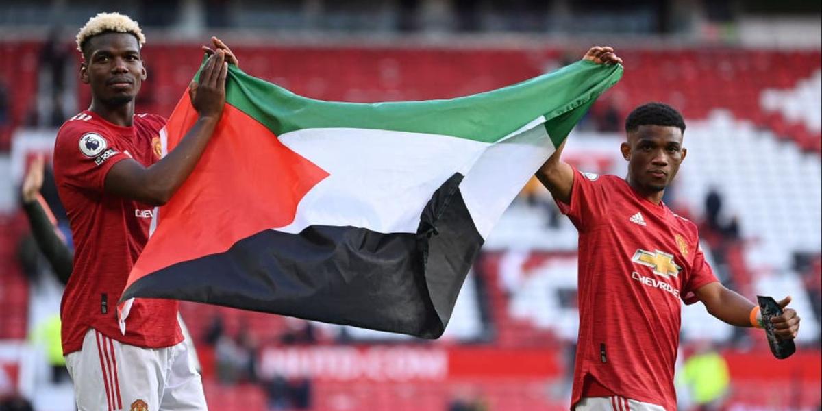 Paul Pogba Supports Palestine