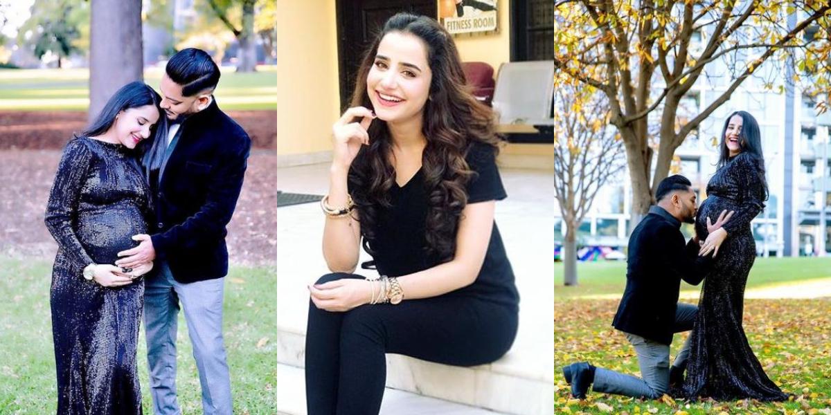 Saniya Shamshad flaunts baby bump
