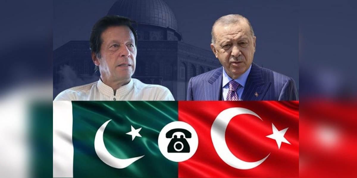 PM Imran, Erdogan Discuss rapidly evolving situation in Afghanistan.