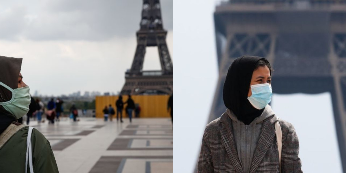 France: Young Muslim Girls Protest Over Proposed Law Banning Hijab