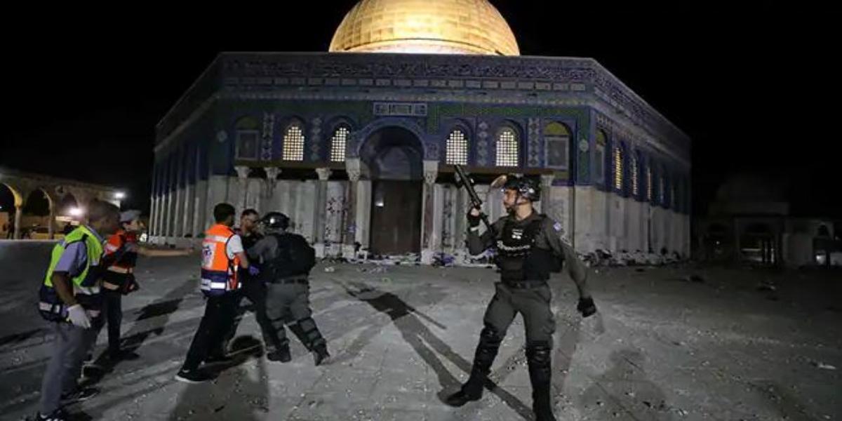 Al Aqsa Mosque Clashes