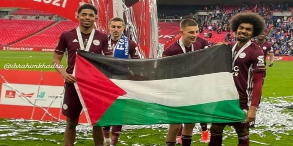 Leicester City Players support for Palestine