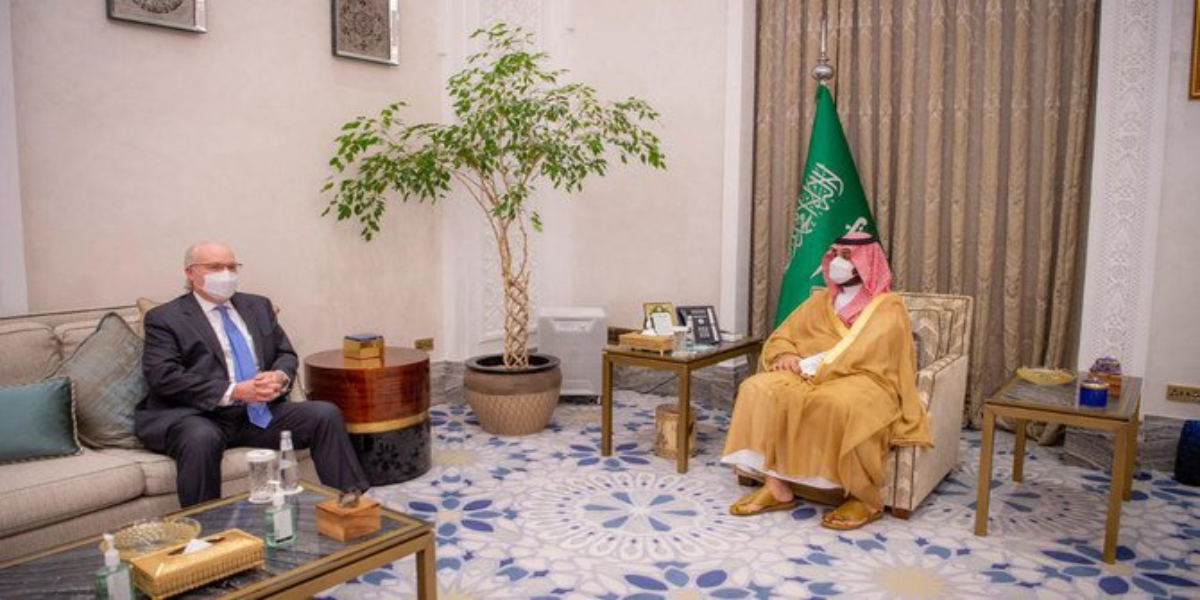 Saudi Crown Prince meets US envoy for Yemen