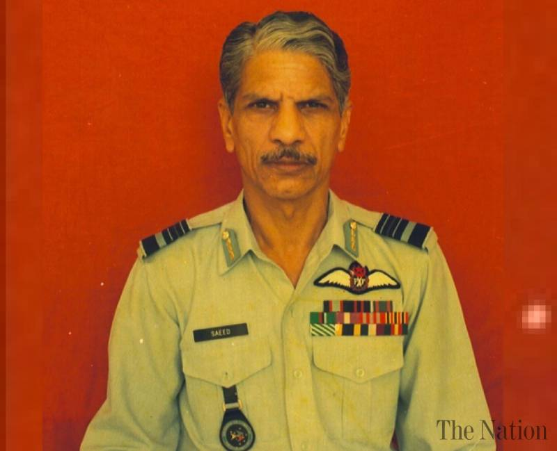 Air Chief Expresses Grief Over Sad Demise Of Air Marshal (Retd) Saeed Anwer