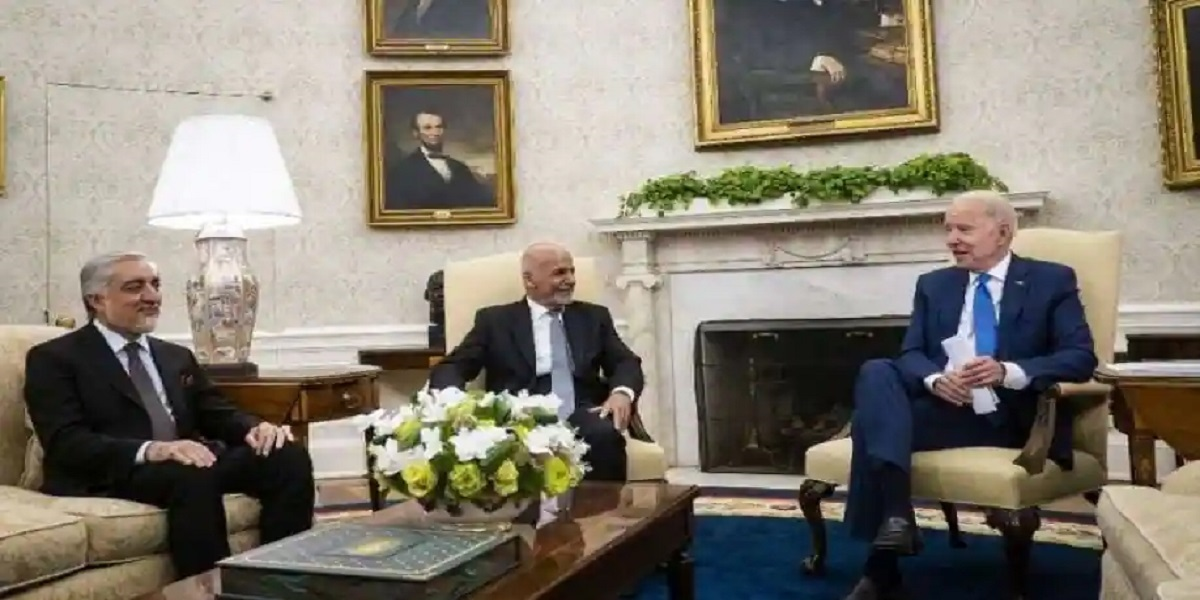US President Calls For Afghanistan To Decide Its Future