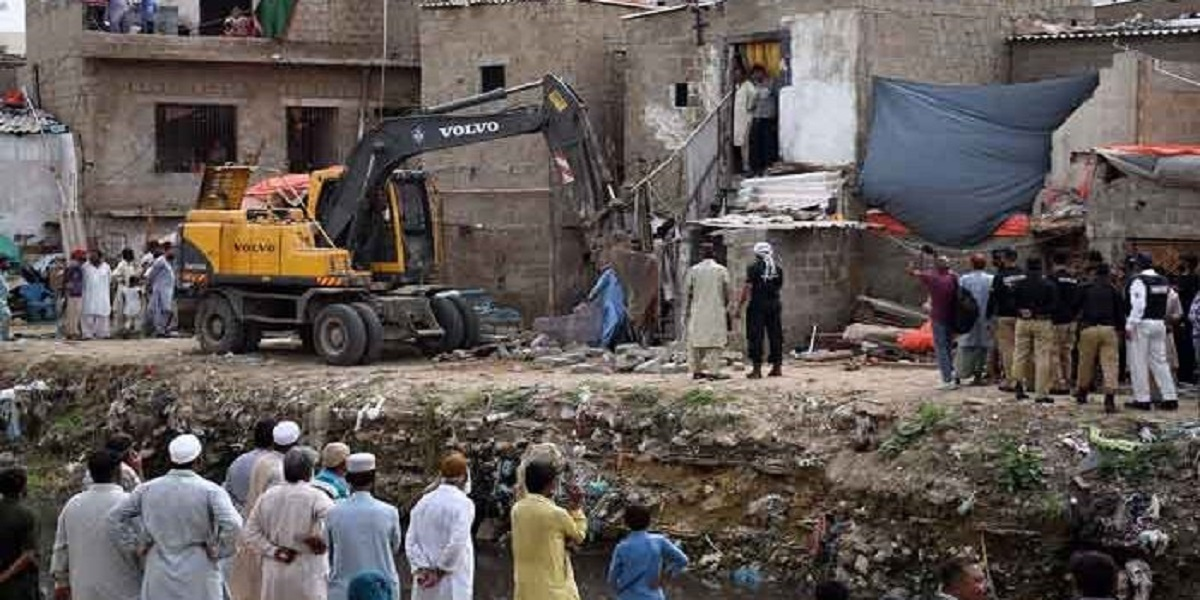 UN Shows Concern Over Eviction of People Along Karachi Nullahs