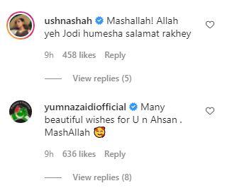 Minal Ahsan engagement