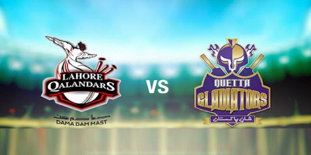 PSL 2021: Lahore Qalandars vs Quetta Gladiators, match no 23