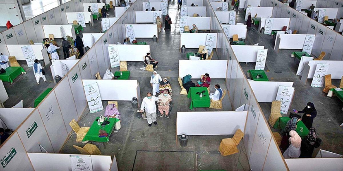 COVID-19 Vaccines Fell Short At The Expo Center Karachi