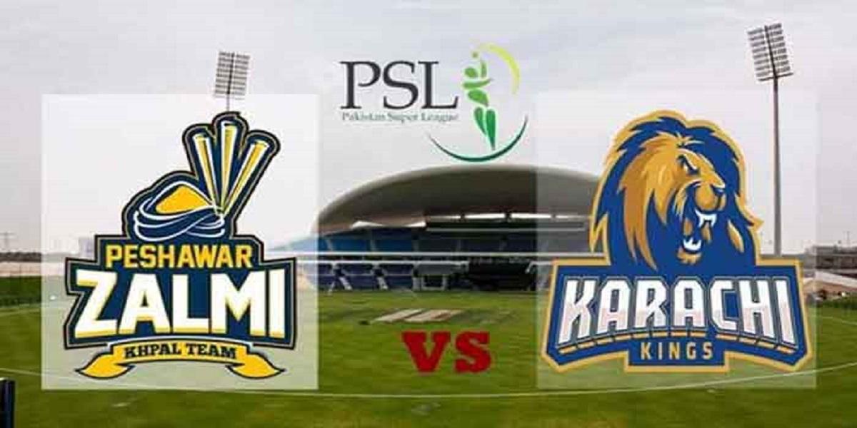 PSL 2021: Karachi Kings Vs Peshawar Zalmi, Match No. 24