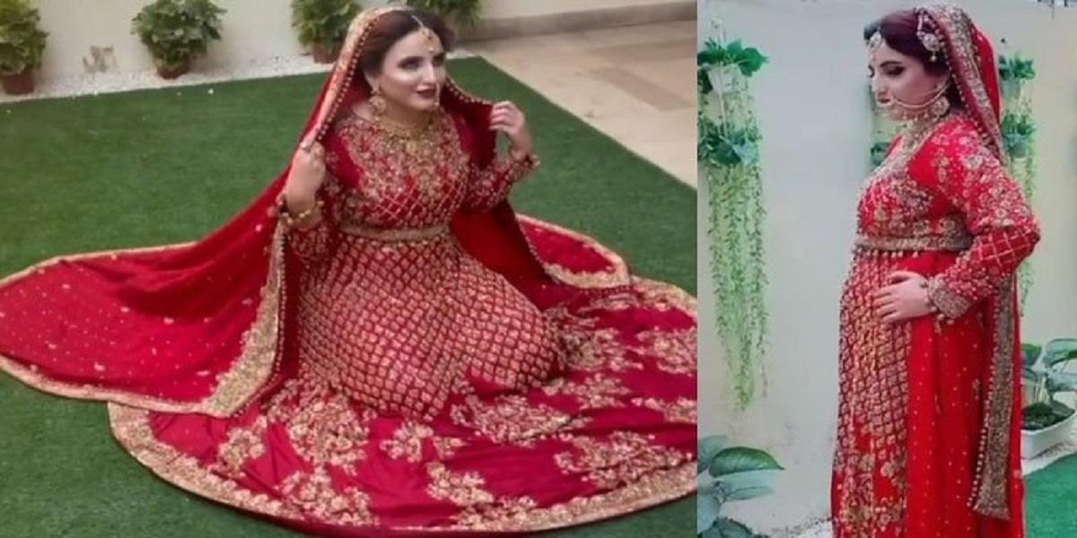 Hareem Shah bridal